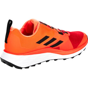 adidas TERREX Two Boa Trail Running Shoes Men, scarlet/core black/solar red